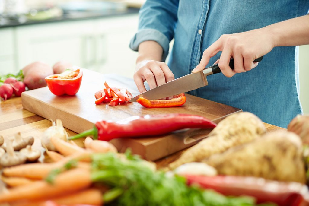 Importance of the right process in the healthy cooking